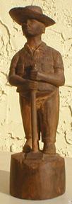 Campesino con Azadón