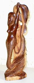 Sirena con Delfinos