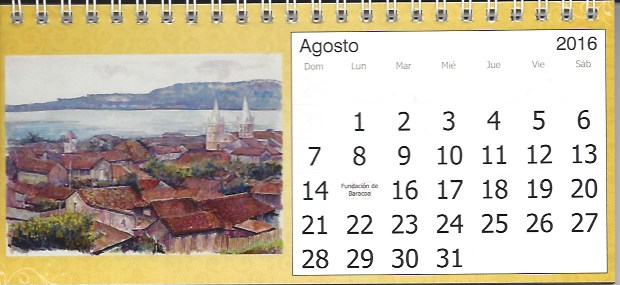 Baracoa calendar 2016 1